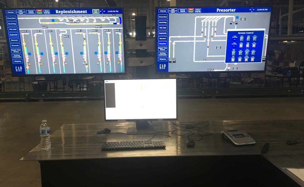 Command Center on computer screens